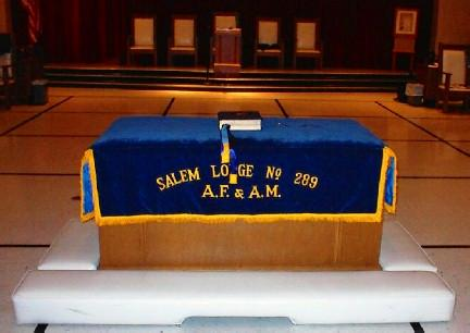 Salem Lodge Alter